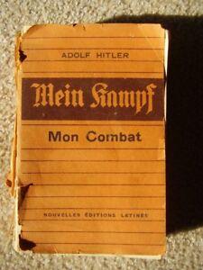 Livre Mein Kampf version française, rare, (réservés aux collabor