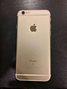 Unlocked Gold iPhone 6s 64GB - Mint Condition
