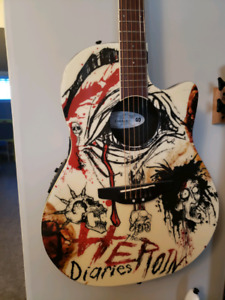 Ovation - Nikki Sixx!!! - Acoustic/Electric.    500$$ today only
