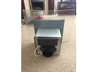 Gas 5 burner baumatic cooker and hood for sale