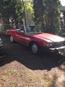 CLASSIC RED 380 SL Convertible