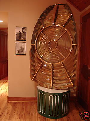 7' Tall Chance Bros 2rd Order Fresnel Lighthouse Lens