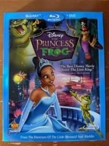 The Princess and the Frog Blu-Ray/DVD