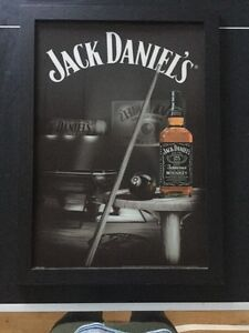 3D Jack Daniels picture in picture frame