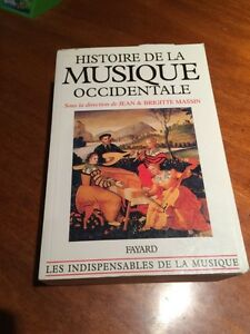Musique 101 textbook (French)