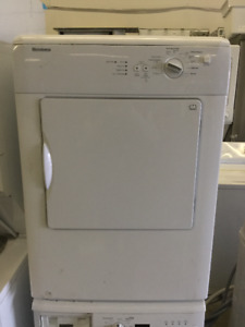 "24"" Apartment Size Stackable Front Load Dryer"