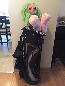 Ladies Golf Clubs and Bag - Right handed