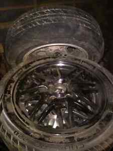 Selling 2 sets of tires/rims