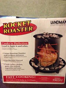 Holiday special Charcoal rocket roaster
