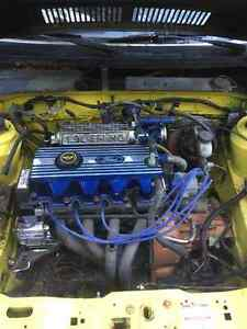 Highly modified Escort motor