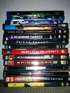 Blu-rays and DVDs for sale $5 each