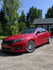2015 Kia Optima SX Turbo + Second set of wheels/winters