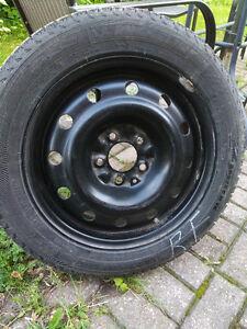 205/55/R16 Michelin X-Ice winter tires + rims