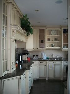 Display Kitchen Cabinets & Granite Countertops