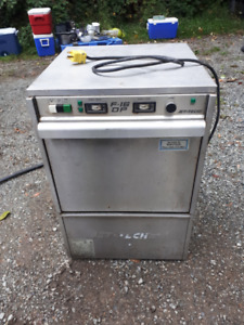 F-16 HIGH TEMPERATURE COMMERCIAL DISHWASHER