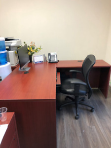 Office furniture for sale-can be sold separate
