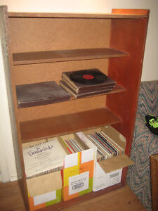 Wooden Bookcase with 4 shelves.