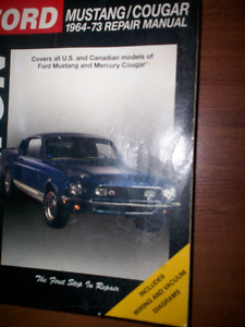Ford Mustang and VW manuals