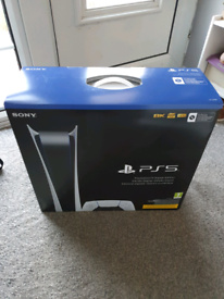 PlayStation 5 digital new and sealed