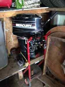 Moteur de bateau Mercury 25 Hp