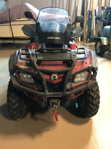 2009 Can Am Outlander 800 R Limited Edition ATV for sale