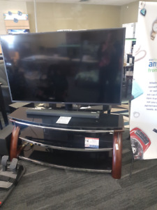 "58"" Samsung TV with Stand"