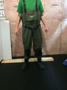 Outbound Waterproof Breathable Nylon Chest Waders