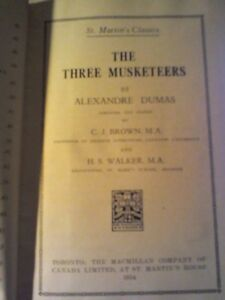 The Three Musketeers Book/Heartbeat Thrift Store/BayView Mall