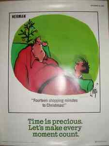 Herman safety posters 1987 Kitchener / Waterloo Kitchener Area image 4