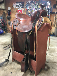 Saddles and misc tack