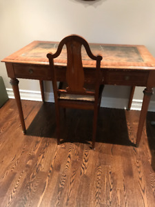 Antique Louis XV Desk and Chair