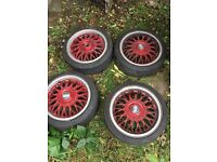 "Genuine bbs 15"" 4x100"