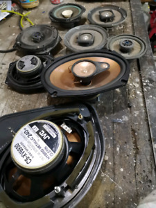 8 auto speakers in good shape