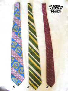 men's vintage ties - 6 for $18