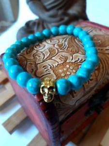 8mm Natural Healing Stone Bracelets for Men Women Beaded Bracele