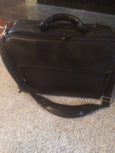 Large leather laptop/briefcase