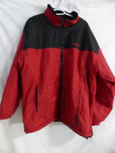 FAHRENHEIT WEATHER GEAR xxl zip up jacket, sherpa fleece lined