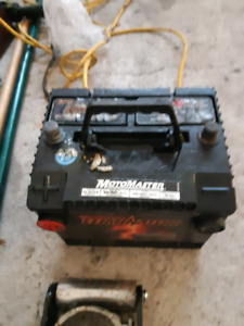 Subaru forester battery good condition used.. scrapped car