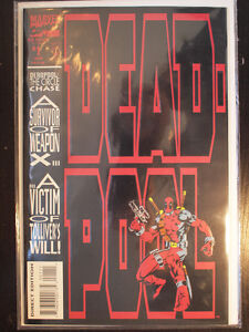 Deadpool Comic lot Circle Chase, Pulp Merc with a Mouth COMPLETE