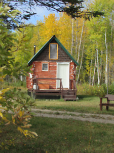 NEW Tiny House Log Cabin  Retreat in Saskatchewan