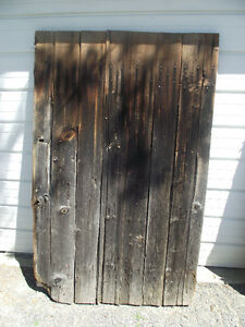 Antique Barn Board Door