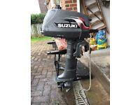 Suzuki DT4 4hp 2 stroke outboard motor
