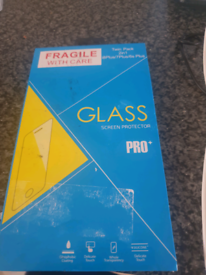 Glass iPhone screen protector