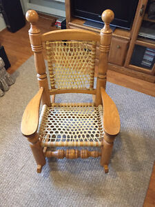 Louis Cyr Rocking Chair