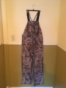 Carhartt overalls for sale. Realtree camouflage