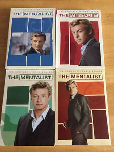 The Mentalist: TV Series - The Complete First to Fourth Seasons