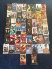 50+ VHS tapes free to a good home!