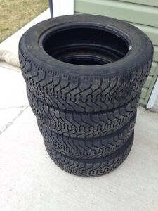 4 GOODYEAR NORDIC WINTER TIRES 205/55/R16