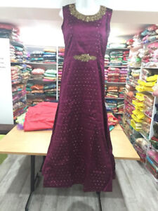 Indian party wear Dresses, Lehengas, Anarkali, Gown, Floor Touch
