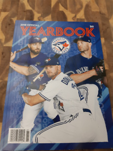 BLUE JAYS 2018 OFFICIAL YEARBOOK (NEW)